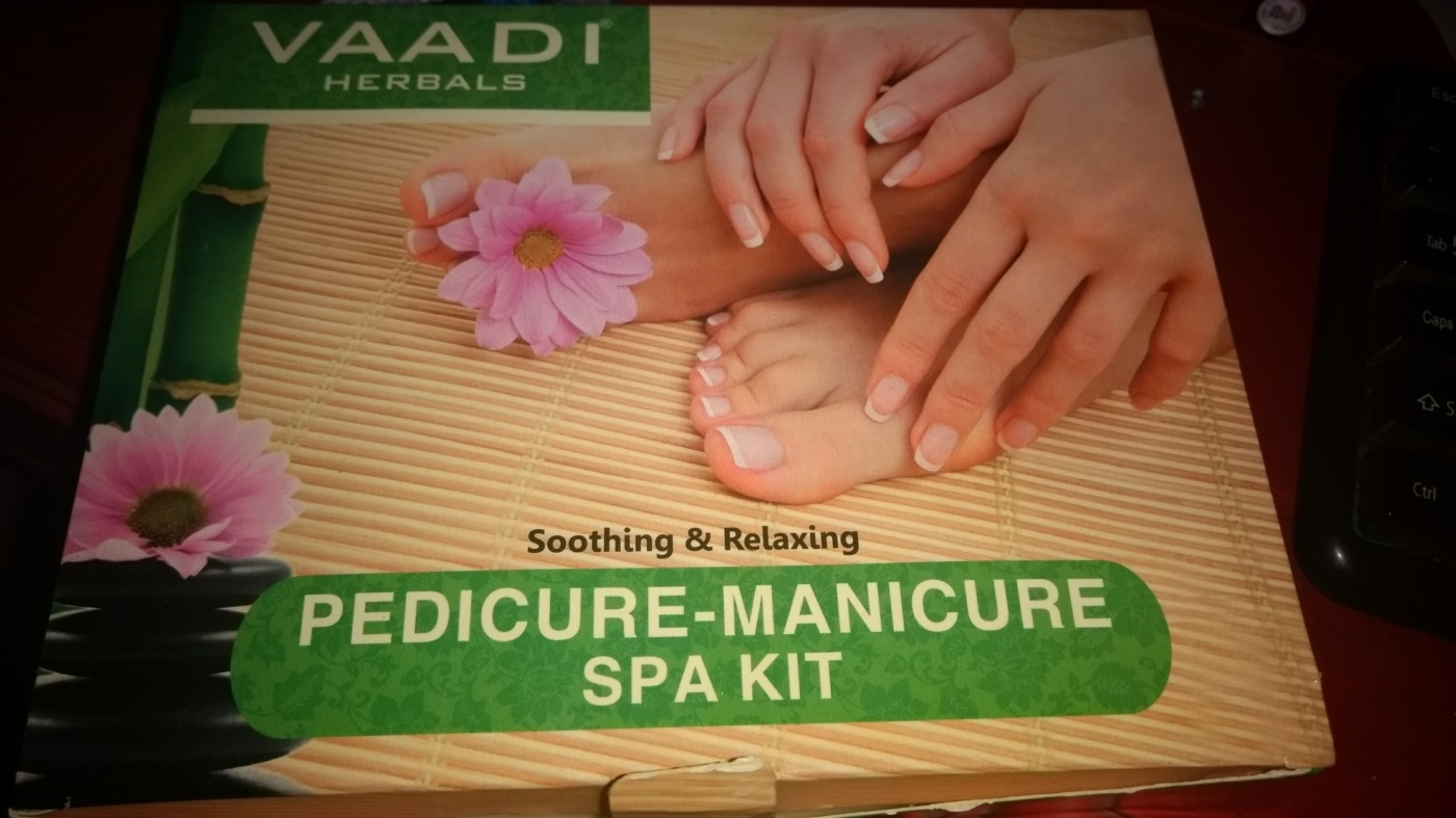 Review of vaadi herbals manicurepedicure set chaitalis musings if you are regular with my haul videos in my youtube channel you will know that during a nykaa sale i got myself a vaadi herbal manicurepedicure set solutioingenieria Choice Image