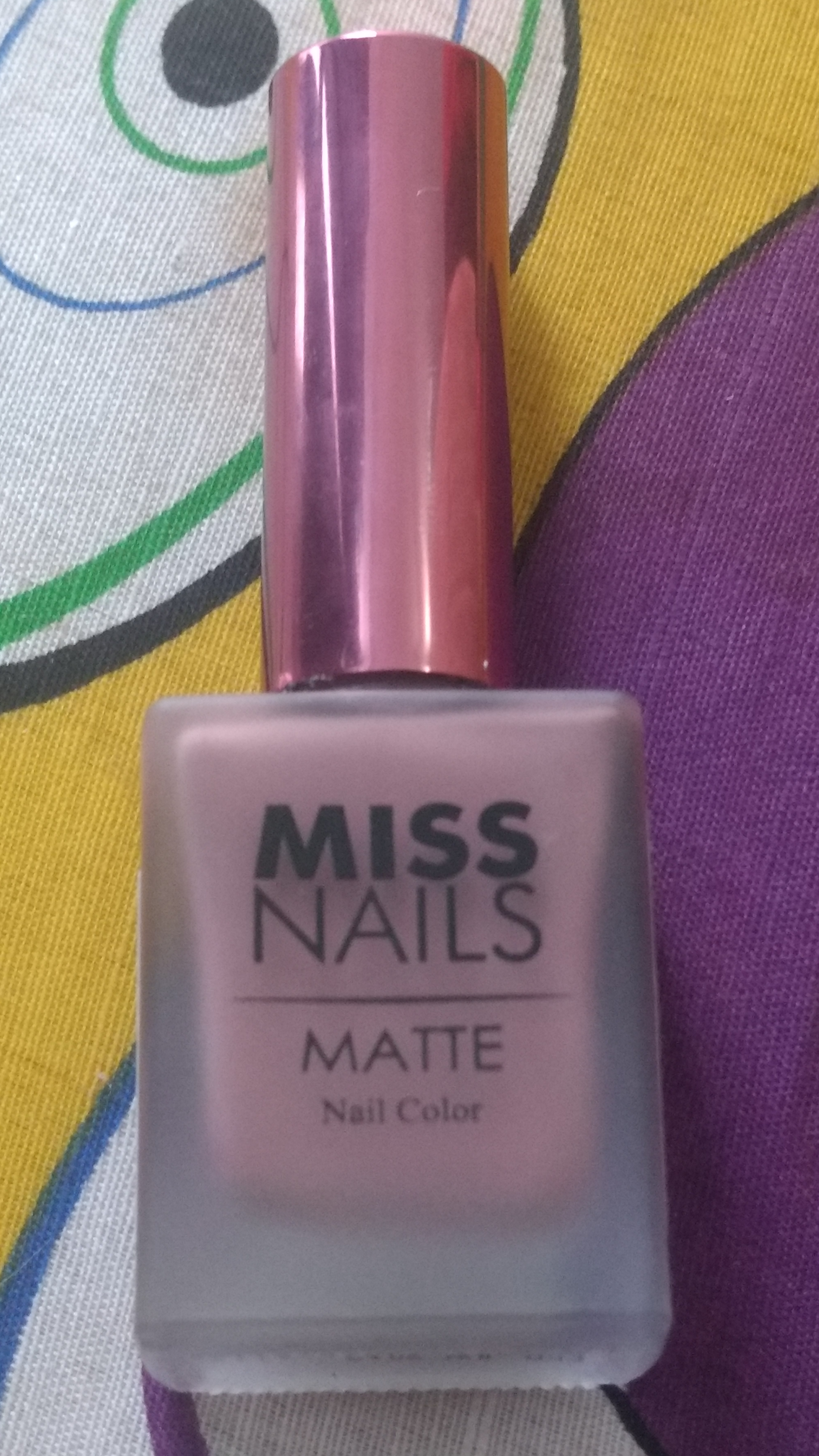 Review of Miss Nails nail polishes - Chaitali\'s Musings